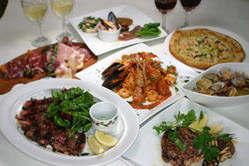 季節によって変わる本格イタリアン料理