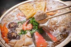 割烹吉葉自慢のこだわりの「ちゃんこ吉葉鍋」、是非ご賞味下さい