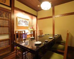 【シーンで選べる個室】 接待・会食・顔合わせなど様々な用途に