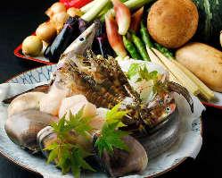季節ごとの旬の味覚を堪能。産地こだわった厳選食材を味わう