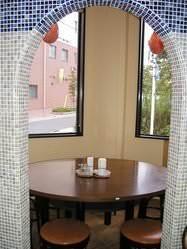 10名様までご利用出来ます。ピザ釜をイメージした個室です☆