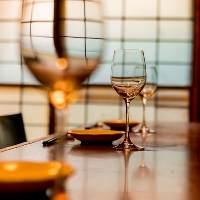 ワインの種類も豊富ですので、ごゆっくりとお楽しみください。