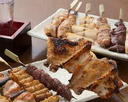 新鮮な大山鶏を堪能。 宴会に最適コースあり◆
