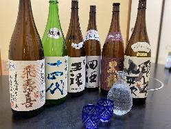 日本酒のプロ「唎酒師」在籍。全国から美味しいお酒を取り寄せ。