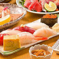 職人が握る本格寿司が愉しめる♪海の幸満載のコース5,000円~