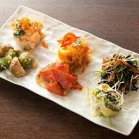 [おばんざい] 和食にイタリアンやフレンチの要素をプラス