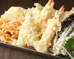 熱々さくさくの天ぷらを是非!