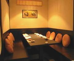 4~8名様用テーブル席