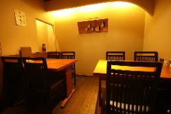個室(4名~8名様まで)