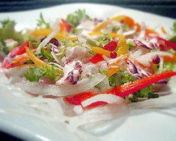 本日仕入れの鮮魚カルパッチョ 美味い魚・肴がいっぱい。