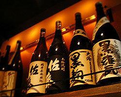 焼酎は約100種以上!梅酒も20種リーズナブルで美味しいワインも