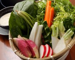 地元食材を使用した料理は女性におすすめの一品!