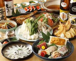 ◆ご宴会コース◆ 2H飲放付3980円から受付中!