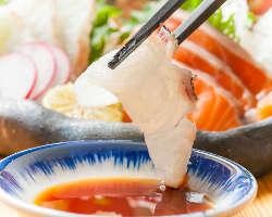◆豊洲から毎日仕入れる新鮮魚介!日替りで季節の味を楽しめます