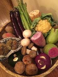 日本各地より厳選した集めたお野菜 毎日届くので鮮度抜群!