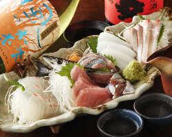 本日のおすすめ鮮魚ご用意しております