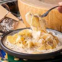【パスタ】 当店名物チーズチーズパスタは必食です!とにかく◎