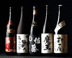 人気の日本酒・焼酎はメニューに記載の無いものもございます。