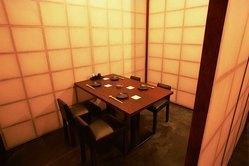 静かにお食事できるテーブル個室 2~10名様(車いす対応)