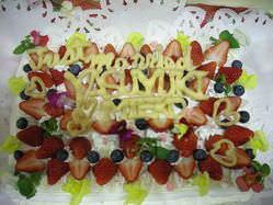 記念日、パーティなどの ケーキデコレーション