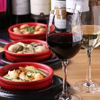 ★当店自慢のワインと逸品料理でお楽しみください★