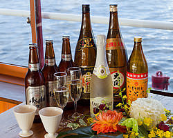 ビアガーデン飲み放題メニューも大充実 船上で生ビール!