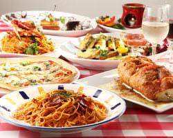 ピザ・パスタは勿論、多数のオススメお料理あります♪