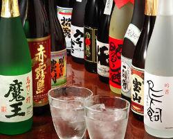 日本酒・焼酎も◎