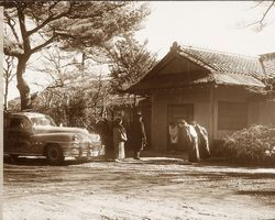 昭和23年頃の貴賓館