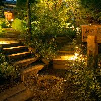 ◇夜には温かな光が灯る幻想的な空間が広がります。