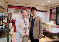 マルチタレント寺脇様が主演ドラマ栄華楼本店にて撮影行いました