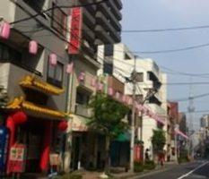 お店入り口からは、 「東京スカイツリー」が望めます♪
