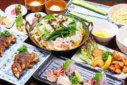 【宴会コース】 大人気もつ鍋コース!