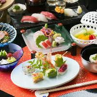 【シーンで選べる】 旬食材を使用したコースを多数ご用意!