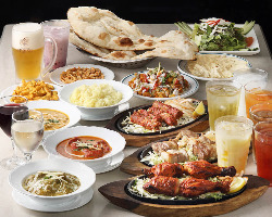 【本格インド料理】 北南インドの料理が楽しめるプランをご用意