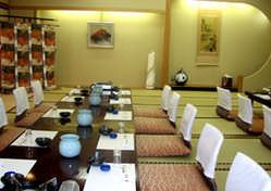 どの部屋も完全個室、40人の宴会ができる広間もあります