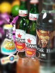 インドネシアのお酒達♪中々よそでは飲めませんよ♪