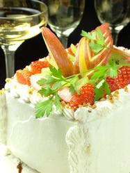 コースのデザートをホールケーキに変更無料!(2日前要予約)