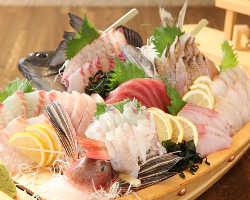 うれたのに来たら新鮮朝獲れ地魚!食べなきゃ損!損!
