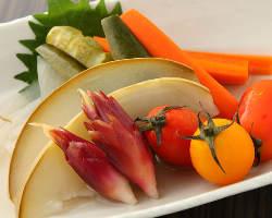 旬の地野菜をお楽しみ下さい!