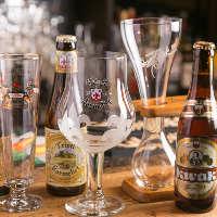 ビールの味わいに合わせて組み合わせるグラスコレクション