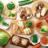 こだわりぬいた国産野菜をお楽しみください。