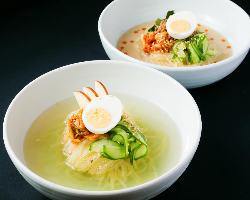 盛岡冷麺とゴマ冷麺