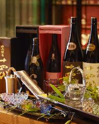 旬の味覚を引き立てる上質な銘酒を各種ご用意しております。