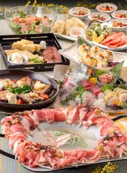 [宴席彩る自慢の料理] 彩り溢れる宴会コースは2,500円~ご用意