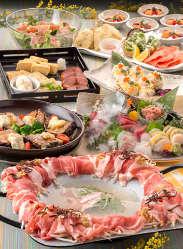 [宴席彩る自慢の料理] 彩り溢れる宴会コースは3,600円~ご用意