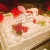 たった一つのお祝いケーキもおまかせください♪