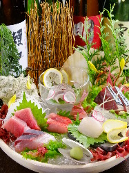 新鮮な魚介をご用意しております。