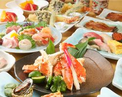 【 コース料理 】 寿司・うなぎ・天ぷら入り