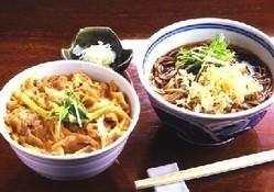 ◇ランチセット親子丼とお蕎麦